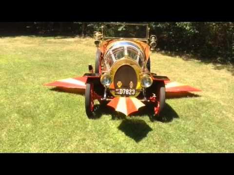 New York's Chitty Chitty Bang Bang Replica-The Flying Movie Car Built by Tony Garofalo