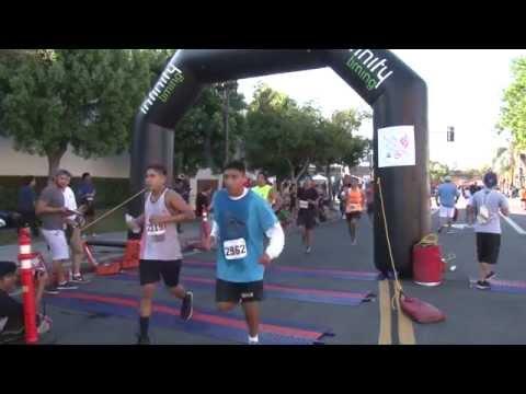 Santa Ana 5k and Plaza Wellness Event 2015