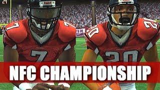 NFC CHAMPIONSHIP GAME - MADDEN 2007 FALCONS FRANCHISE VS COWBOYS