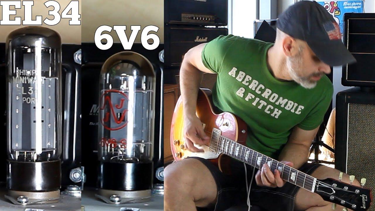 6v6 Vs El34