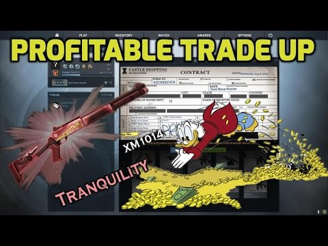 First classified contract and easy profit - CS GO Trade UPs #10