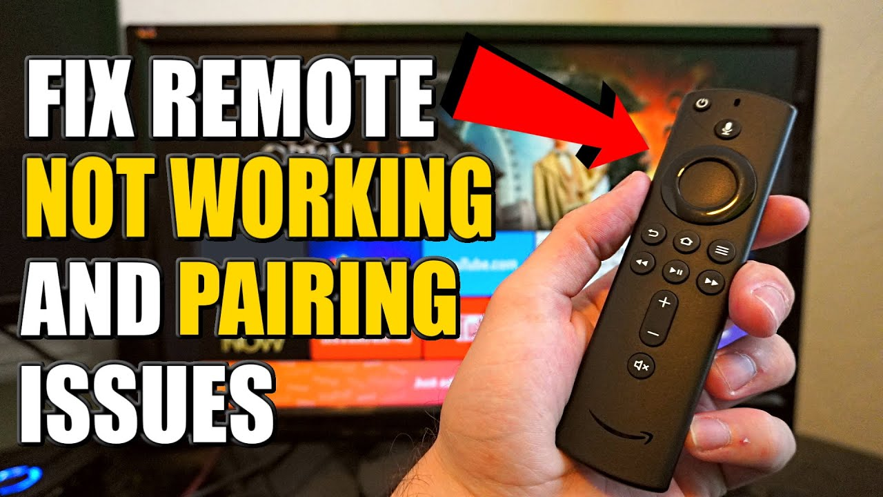 5 STEPS to FIX Fire Stick TV Remote Not Working or Pairing (Easy Method)