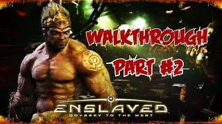Enslaved: Odyssey to the West #02 [Walkthrough/Deutsch/German/PC] - Alte Stadt