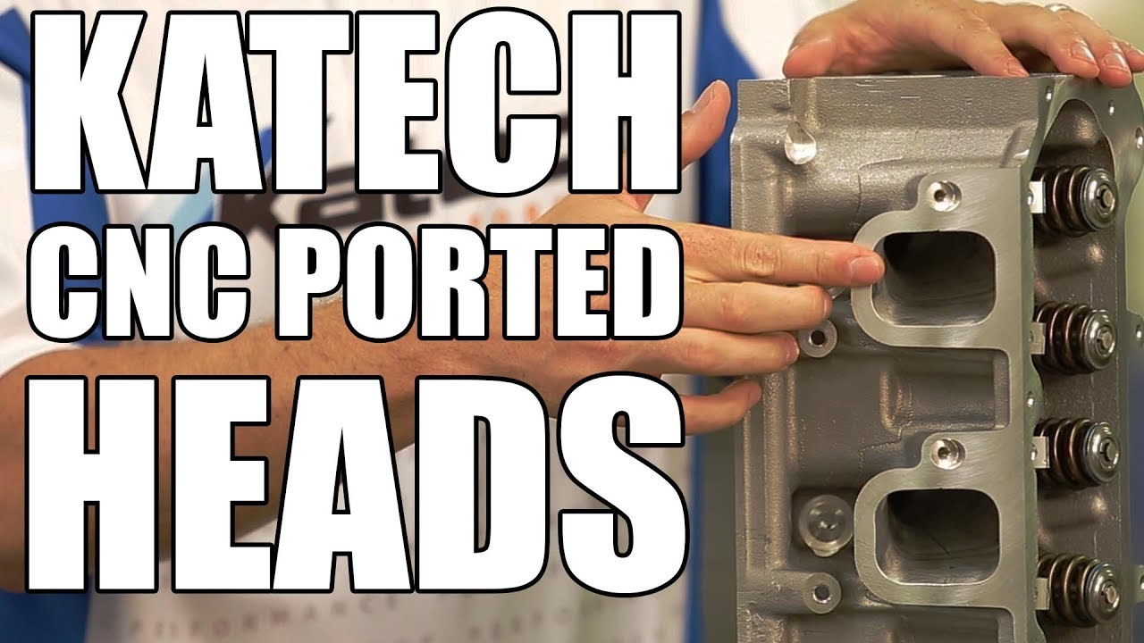 Katech CNC Ported Cylinder Heads for LS1, LS6, LS2, Trucks, LS3, L92, LS7,  LT1 and LT4