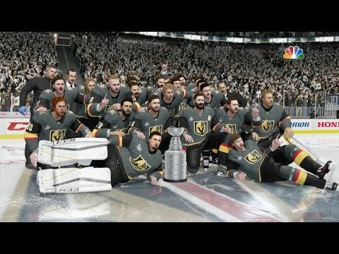 NHL 18 - Vegas Golden Knights Stanley Cup Celebration