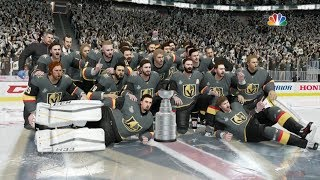 NHL 18 - Vegas Golden Knights Stanley Cup Celebration