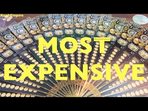 WOW BIGGEST $30 SCRATCHERS FIRST TIME EVER!!! California Gold $30 California Lottery Scratcher - ONE