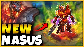 *NEW S11 BATTLECAST NASUS* Pay to win SKIN (FIRST EVER GAMEPLAY) - League of Legends