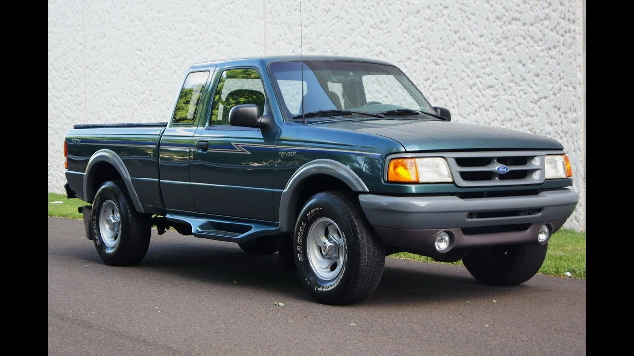 1996 ford ranger stx 4wd extended cab
