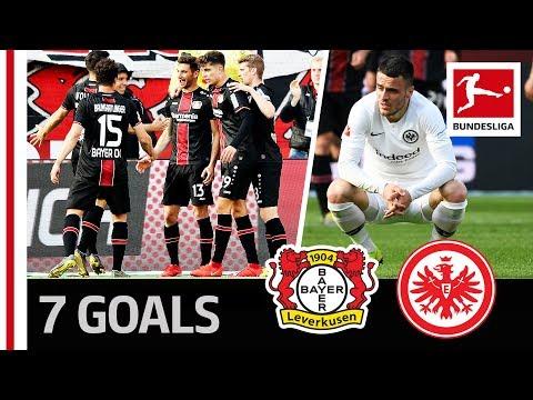 6-1 After 36 Minutes -  Leverkusen Demolish Frankfurt in the Half of the Season