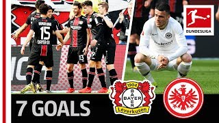 6-1 After 36 Minutes -  Leverkusen Demolish Frankfurt in the Half of the Season