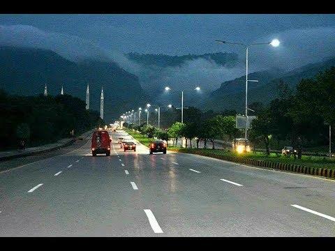 | Islamabad Beautiful city in Night | With Nikon DSLR D5300 |
