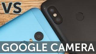 Xiaomi Redmi 5 Plus сравнение с Redmi Note 5 в Google Camera HDR (GCAM compare)