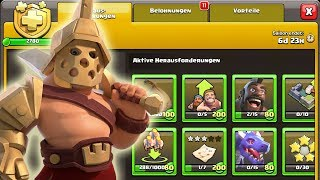 Gladiatorkönig - Helden Skin | Battle Pass in Clash of Clans | Clash of Clans Deutsch