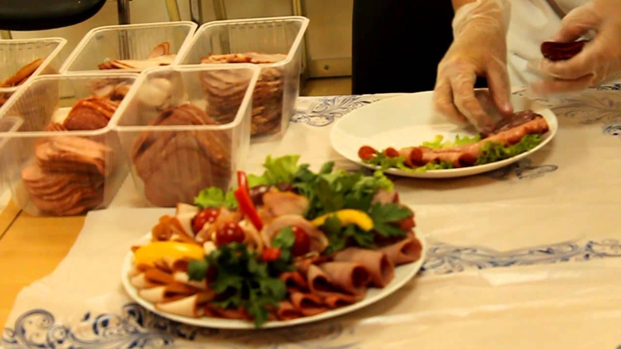 как уложить красиво колбасу и сыр фото