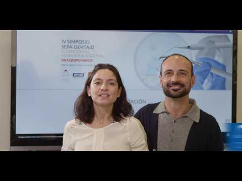 IV Simposio SEPA DENTAID. Invitación de la Dra.María Rioboo y del Dr. Agustín Casas