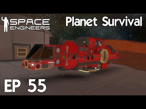 Space Engineers Planets - Ep 55 Hydrogen Tanker