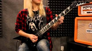 PANTERA - Revolution Is My Name - (Katrin Child Guitar Cover)