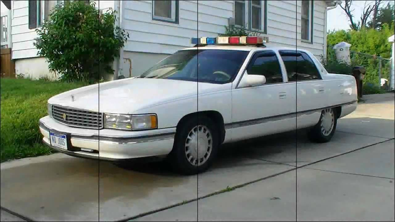1996 Cadillac Deville Police Car Slide Show Youtube