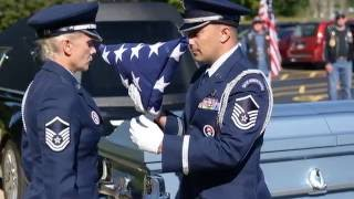 Military Funeral   Jacob Karb, Jr   United States Air Force 22 August 2016 Lombardo Funeral Home