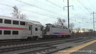 2014 Thanksgiving Holiday Extra Trains at Jersey Avenue