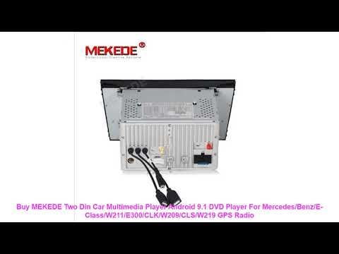 Buy MEKEDE Two Din Car Multimedia Player Android 9.1 DVD Player For Me