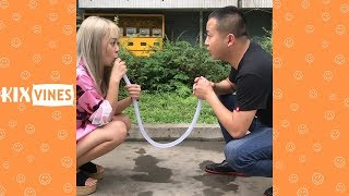 Funny videos 2018 ✦ Funny pranks try not to laugh challenge P45
