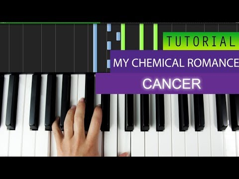 My Chemical Romance - Cancer - Piano Tutorial + MIDI Download
