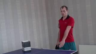 ► Стиль, типы ударов и тактика игры в различных зонах в настольном теннисе