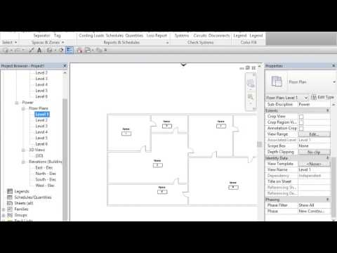 Revit electrical tutorials in easy steps