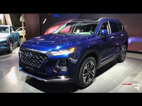 2019 Hyundai Santa Fe – Redline: First Look – 2018 NYIAS