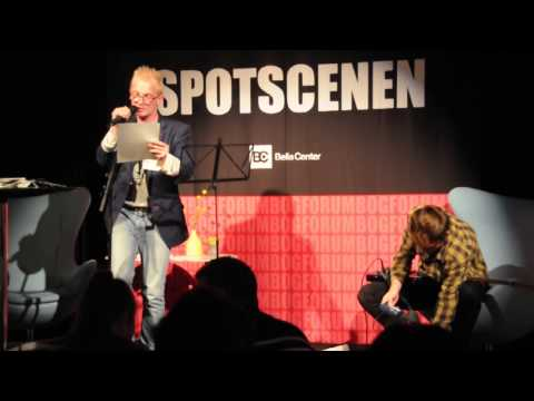Bogforum 2013 - Frederik Bjerre Andersen og Gustav Niepoort på Spotscenen