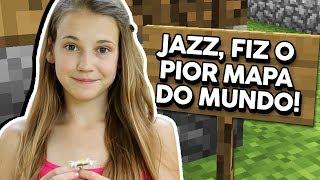 Minecraft: MINHA FÃ DE 11 ANOS FEZ ESSE MAPA PARA MIM!