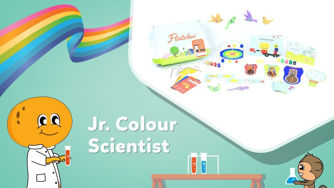 Junior Colour Scientist | Activity Boxes for 3-4 Year Olds ...