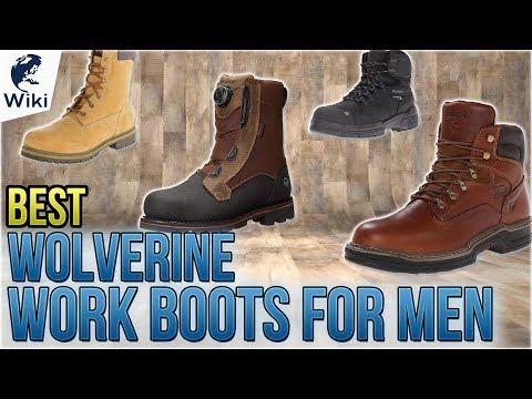 10 Best Wolverine Work Boots For Men 2018