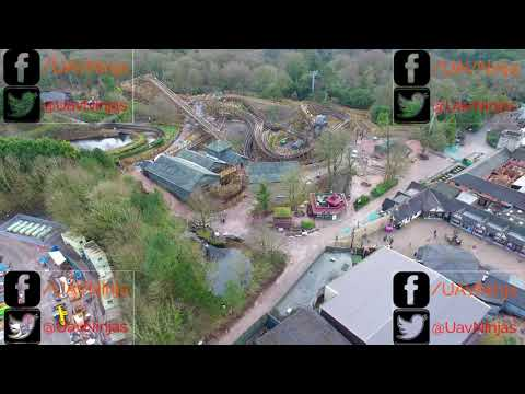 The Wicker Man SW8 at Alton Towers Resort