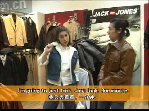 Episode 10: Winter Clothes Learn English with Mandarin translation