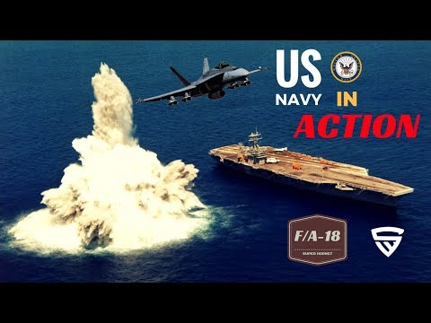 US Navy In Action ft  F/A-18 Hornet