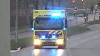 [Luchthoorn - overplaatsing ZMC Heerlen ? MUMC+] 3x MICU 24-301 met spoed in Maastricht!