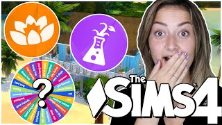 Using TWO Random Packs In Every Room!| sims 4 every room |