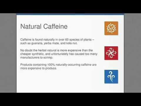 Natural Vs Synthetic Caffeine