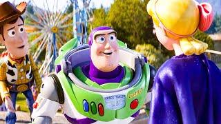 Buzz se reúne con el Bo Peep Escena de TOY STORY 4 (2019) Clip de Película