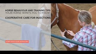 Cooperative Care for Horses: Jugular Injections