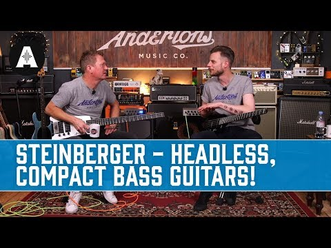Steinberger Bass Guitars - Headless And Wonderfully Compact!