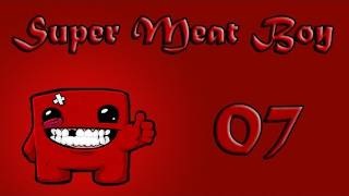 Let`s play Super Meat Boy part 7 - Laseraugen