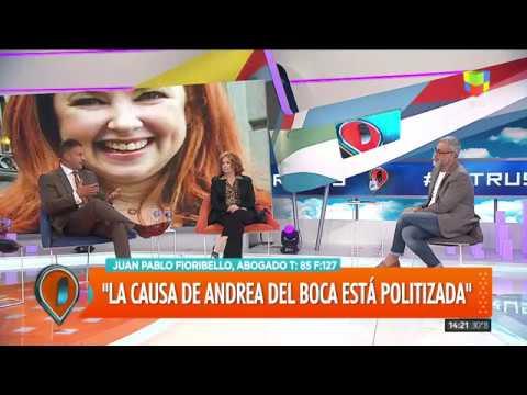 """Andrea del Boca: """"A mi hija le robaron parte de su infancia"""""""