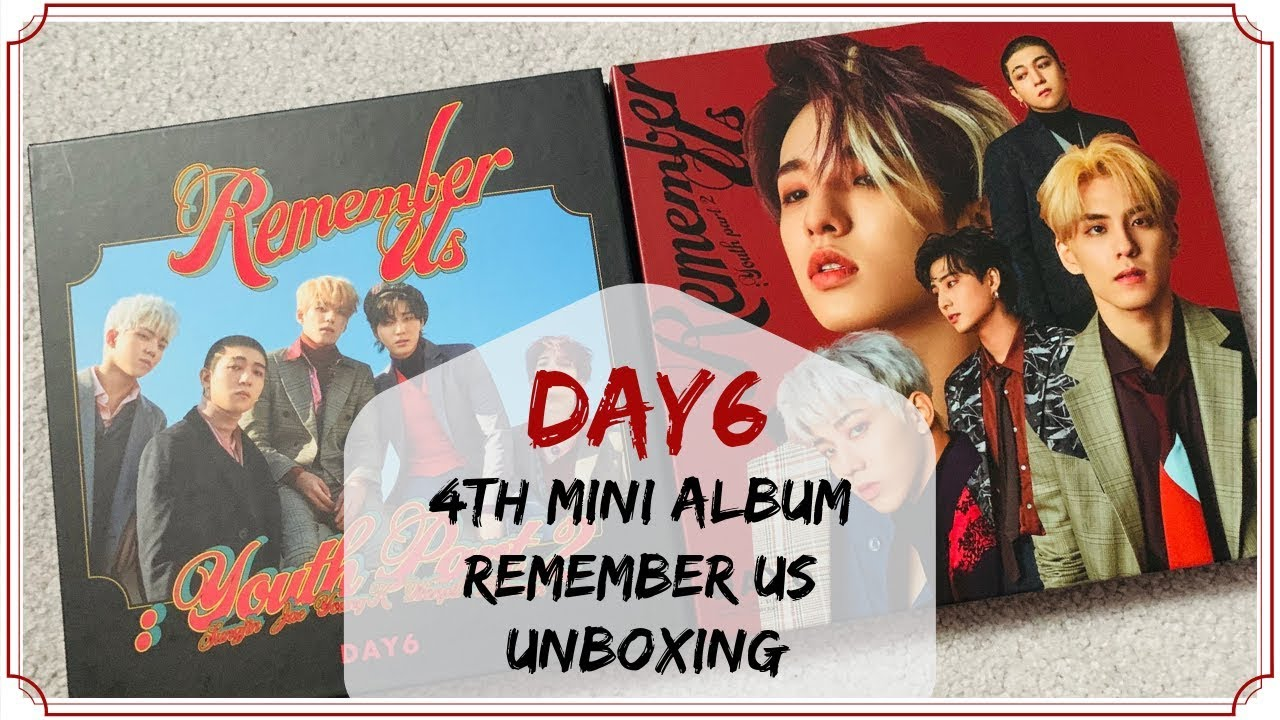 ☆ Unboxing DAY6 - Remember Us: Youth Part 2 - Both Versions ☆