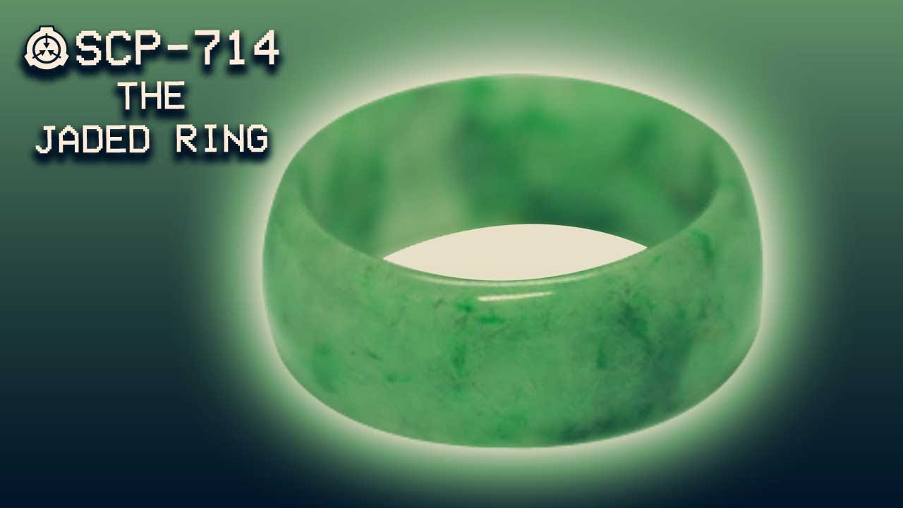 SCP-714 - The Jaded Ring : Safe : Self-repairing SCP