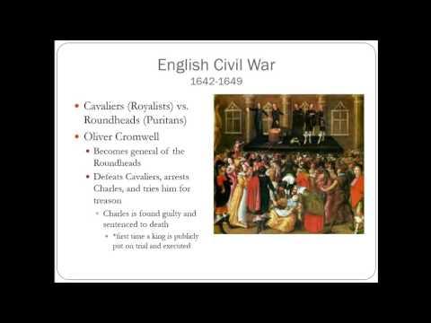 English Civil War & Glorious Revolution
