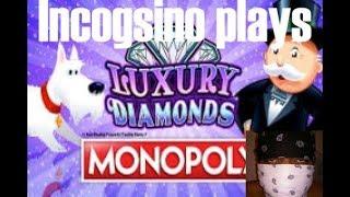 Incogsino plays Luxury Diamond Monopoly and Amazon Dynasty!